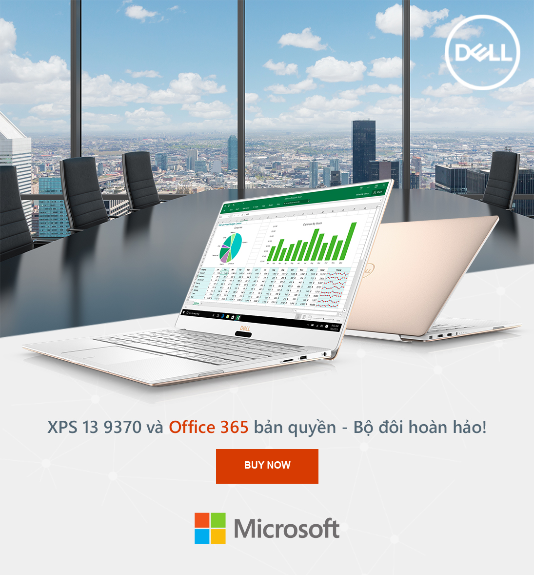 XPS 13 9370 va OFFICE 365 Ban Quyen